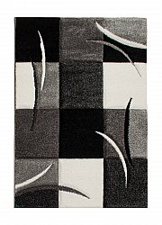 Tapis Wilton - London Patch (noir)