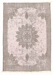 Tapis chiffons - Cassis (gris)