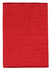 Tapis chiffons - Slite (rouge)