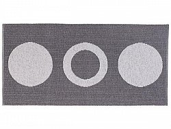 Tapis en plastique - Le tapis de Horred Circle (gris)