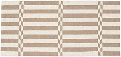 Tapis en plastique - Le tapis de Horred Arrow (beige)