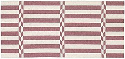 Tapis de cuisine (plastique) - Le tapis de Horred Arrow (rose)
