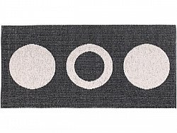 Tapis en plastique - Le tapis de Horred Circle (noir)