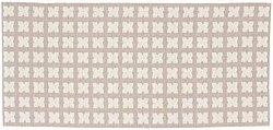 Tapis en plastique - Le tapis de Horred Cross (beige)