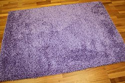 Tapis shaggy - Fancy (pourpre)
