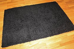 Tapis shaggy - Fancy (noir)