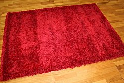 Tapis shaggy - Shaggy Deluxe (rouge)