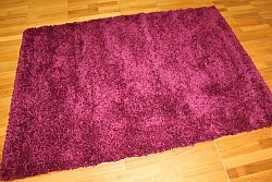 Tapis shaggy - Shaggy Deluxe (pourpre)