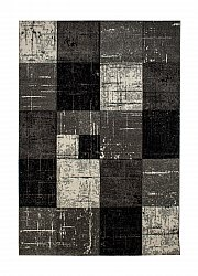 Tapis Wilton - London Square (noir)