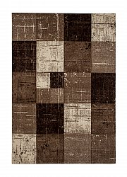 Tapis Wilton - London Square (chocolat)