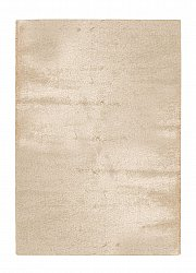 Tapis 133 x 190 cm (tapis shaggy) - Lounge (beige)