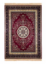 Tapis Wilton - Casablanca Medallion (rouge)