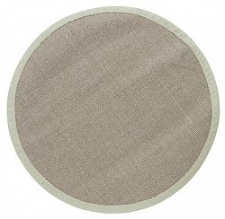 tapis rond sisal manaus gris. Black Bedroom Furniture Sets. Home Design Ideas
