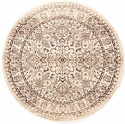 Tapis rond - Peking Noble (blanc)