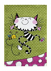 Tapis enfants - London Kitty (multi)