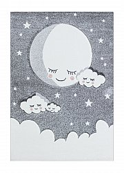 Tapis enfants - London Cloud (gris)
