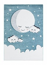 Tapis enfants - London Cloud (turquoise)