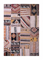 Tapis 200 x 290 cm (wilton) - Tibet Patch (multi)