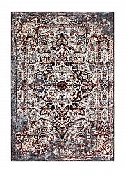 Tapis 155 x 230 cm (wilton) - Shiraz Medallion (rust)