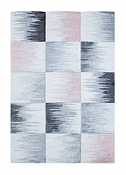 Tapis 160 x 230 cm (wilton) - Atlas Square (rose)