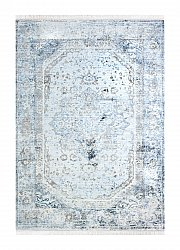 Tapis 160 x 230 cm (wilton) - Colourful Medallion (gris)