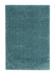 Tapis 133 x 190 cm (tapis shaggy) - Soft dream (turquoise)