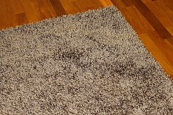 Tapis shaggy - Fancy (marron/beige)