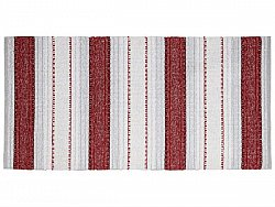 Tapis en plastique - Le tapis de Horred Anna Mix (rouge)