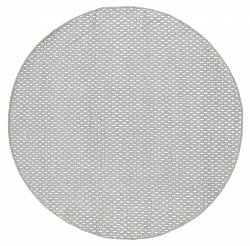 Tapis rond - Clovelly (gris clair)