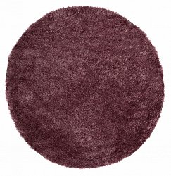 Tapis rond 120 cm - Cosy (rubis)