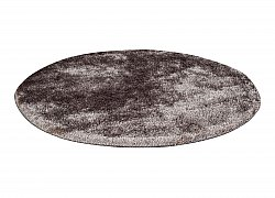 Tapis rond 80 cm - Cosy (gris)