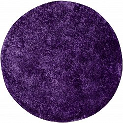Tapis rond 80 cm - Cosy (violet)