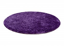 Tapis rond - Cosy (violet)