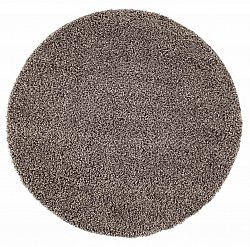 Tapis rond - Trim (marron)