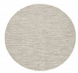 Tapis rond - Dhurry (beige)