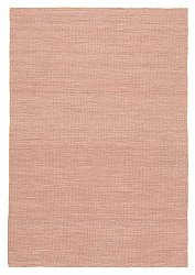 Tapis de laine - Dhurry (rose)