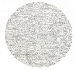 Tapis rond - Dhurry (gris)