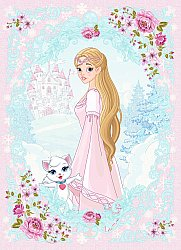 Tapis enfants - Fairytale (rose/multi)