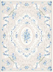 Tapis Wilton - Estaing (bleu)