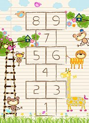Tapis enfants - Counting Animals (multi)