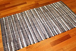 Tapis chiffons - Home (marron)