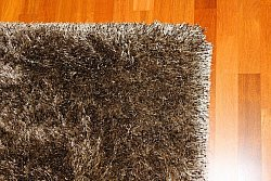 Tapis shaggy - Soft Deluxe (marron)