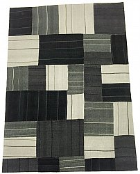 Patchwork - Superior new wool Patchwork (noir)