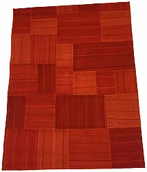 Patchwork - Superior new wool Patchwork (rouge)