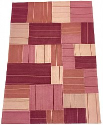Patchwork - Superior new wool Patchwork (rose)