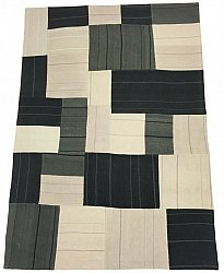 Patchwork - Superior new wool Patchwork (gris)