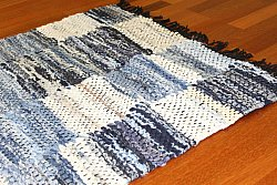 Tapis chiffons - Jeans (Patchwork)