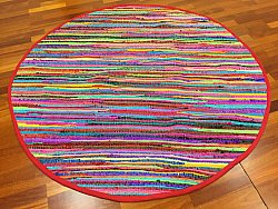 Tapis rond - Happy (rond)