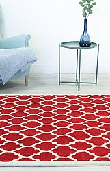 Tapis de laine - Madrid (rouge)