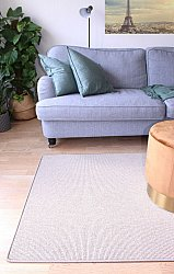 Tapis sur mesure (laine la plus fine) - Kingston (beige)